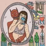 英國插畫家Polly Nor...用插畫帶你進入女人與她們皮下小惡魔的世界