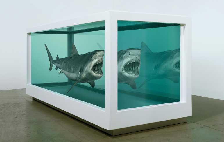 英國當代藝術家Damien Hirst...生死概念的詭譎詮釋與藝術爭議