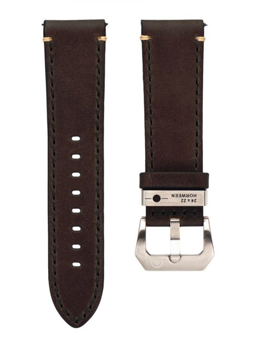 鐵鏽棕真皮錶帶-鏡頭在手 機械限量款 AVL2 Automatic Vintage Lens II
