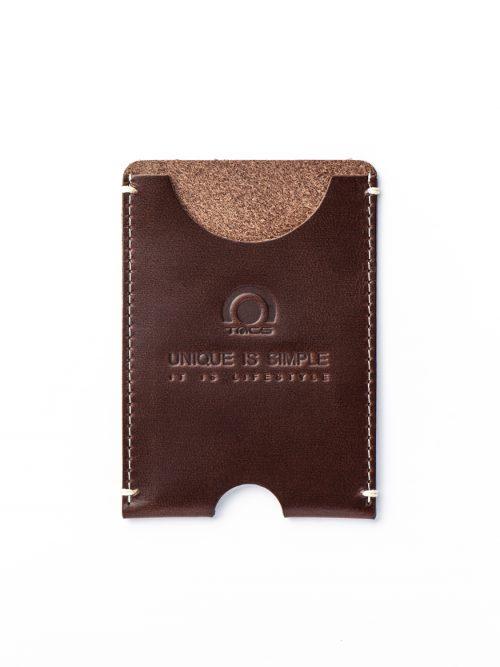 AVL2鐵鏽棕頂級皮革限量紀念卡套
