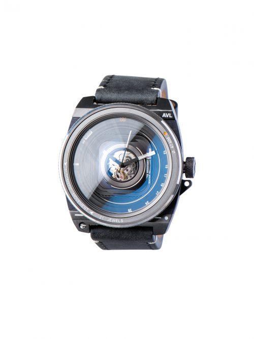 鏡頭在手-機械限量款-碳古銀皮革版 AVL2 Automatic Vintage Lens II- Antique Silver