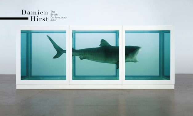 英國當代藝術家Damien Hirst…生死概念的詭譎詮釋與藝術爭議