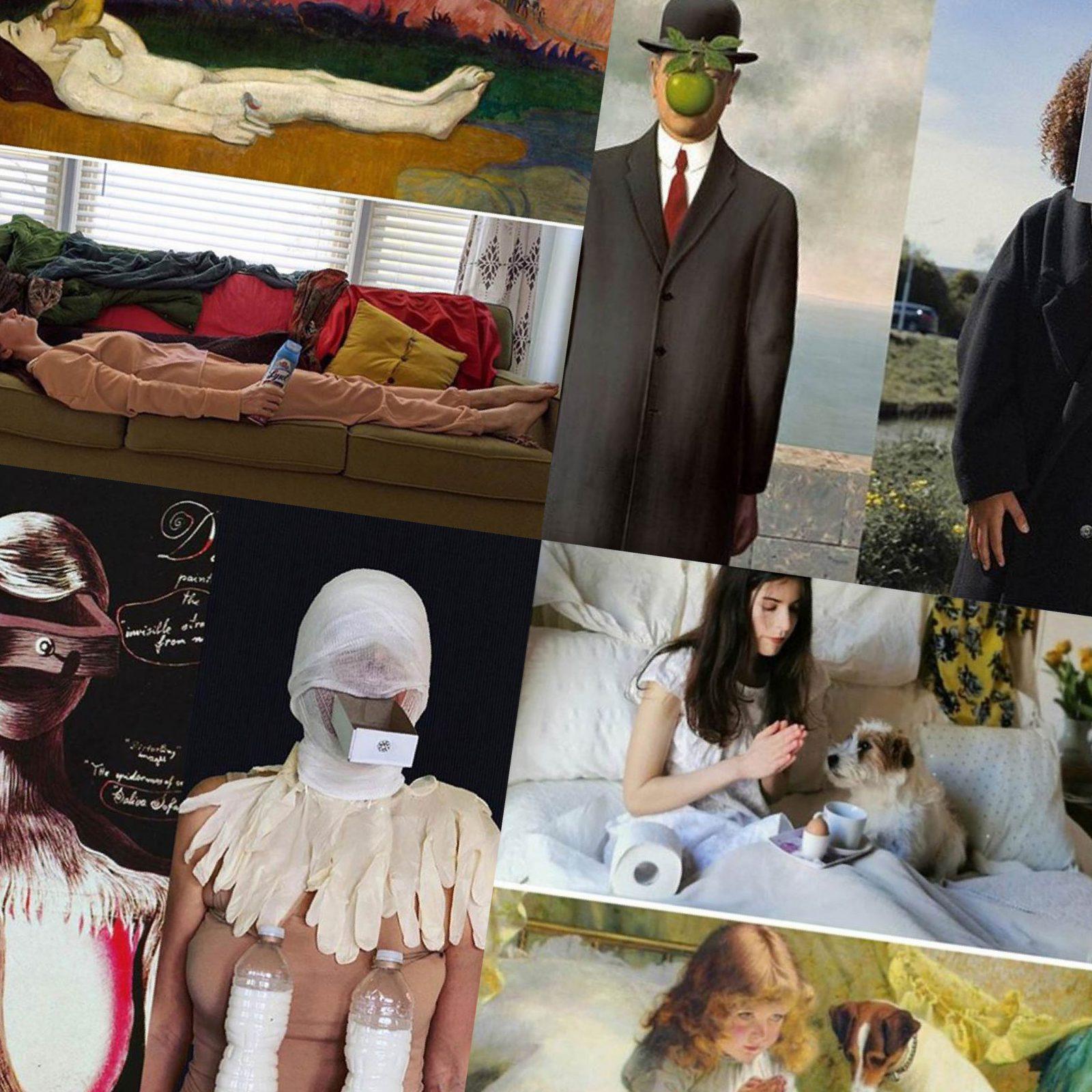 在藝術與隔離之間 挑戰Cosplay世界名畫