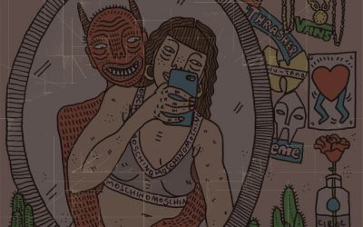 英國插畫家Polly Nor…用插畫帶你進入女人與她們皮下小惡魔的世界