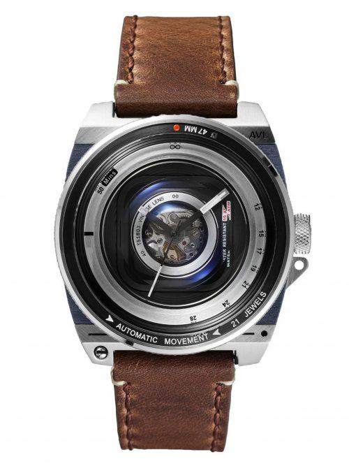 鏡頭在手-機械限量款-鐵鏽棕版 AVL2 Automatic Vintage Lens II-Rustic Brown