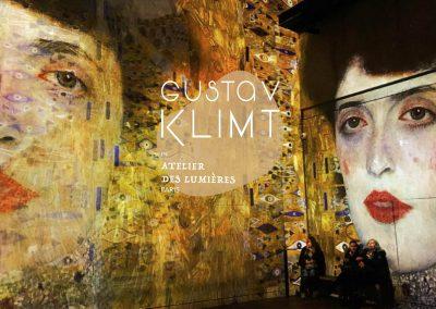 感受維也納分離派的聲光流動,巴黎光之工坊 L'ATELIER DES  LUMIÈRES帶你身歷其境克林姆的綺麗世界