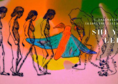 《惟物專訪》新銳藝術家李詩怡,動畫與音樂結合的嶄新藝術展演,給你不同的感官震撼!